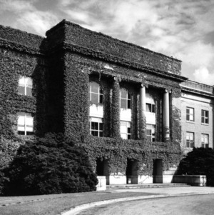 Ricks Hall, front view