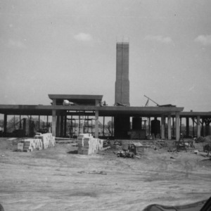 Grinnells Animal Health Laboratories during construction