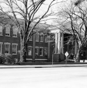 View of Winston Hall from across Hillsborough Street