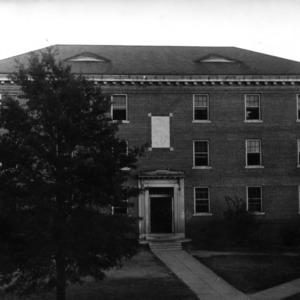 Welch Residence Hall, front view