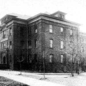 Watauga Hall, side view