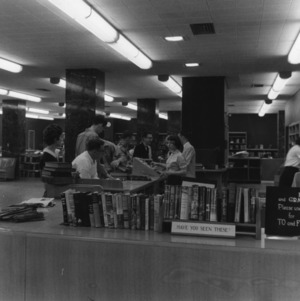 D. H. Hill Library interior