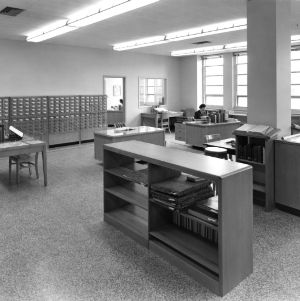Catalog Department, D. H. Hill Library, North Carolina State College