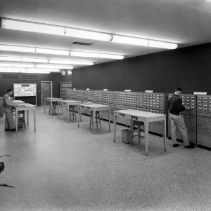 D. H. Hill Library, card catalog