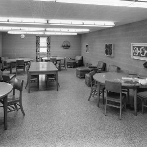 Undergraduate study room on third floor of D. H. Hill Library, North Carolina State College
