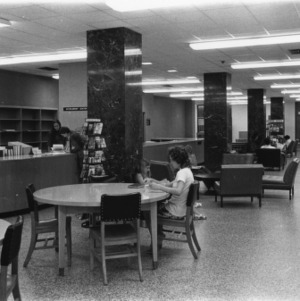 D. H. Hill Library, Interlibrary Loan Center desk