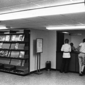 Periodicals Service desk, D. H. Hill Jr. Library