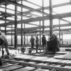 D. H. Hill Library, construction