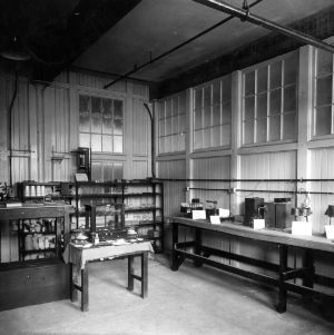 Tompkins Hall, research dye laboratory
