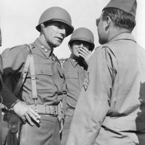 Father of the Airborne, General William C. Lee, a graduate of North Carolina State College's Army ROTC program