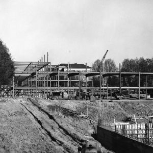 D. H. Hill Jr. Library, construction