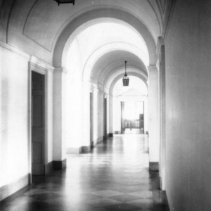 Holladay Hall, hallway