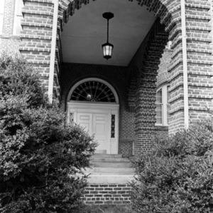 Holladay Hall, front entry