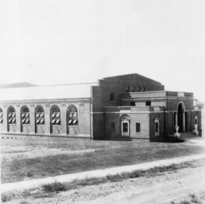 Thompson Gymnasium, North Carolina State College