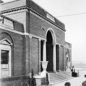 Thompson Gym, front view