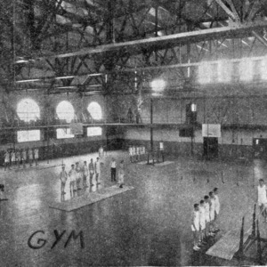 Thompson Gym, interior