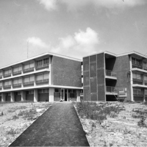 Married student housing units, September 10, 1960.