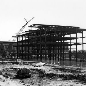 Talley Student Center, construction