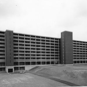 Lee Dormitory, North Carolina State College, June 1964