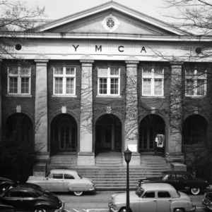 King Religious Center (YMCA), front entrance