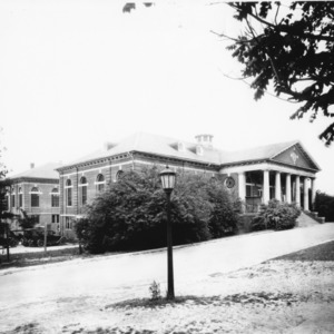 Leazar Hall, built in 1912, North Carolina State College
