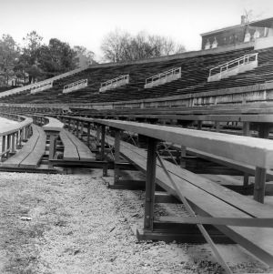 Riddick Stadium, the west stands