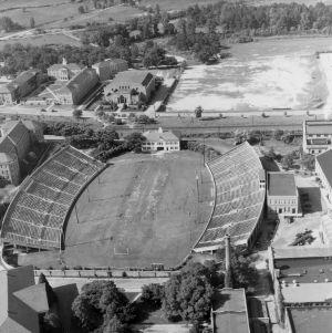 Riddick Stadium, aerial view