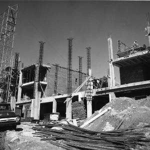Mann Hall, construction