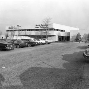 Jane S. McKimmon Center, front view