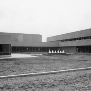 Jane S. McKimmon Center, view of the fountain