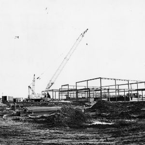 Jane S. McKimmon Center, construction