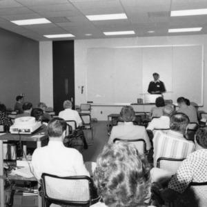 Jane S. McKimmon Center, conference room