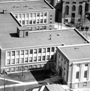 Riddick Engineering Laboratories, overhead view