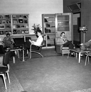 Riddick Engineering Laboratories, student lounge