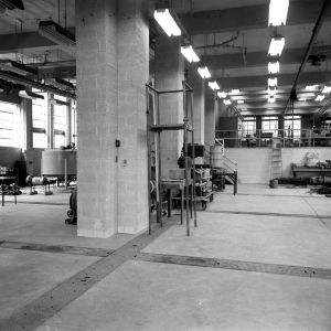 Riddick Engineering Laboratories, interior view