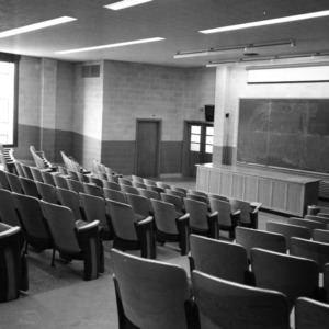 Riddick Engineering Laboratories, auditorium