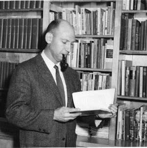 Dr. Ernest O. Beal with book