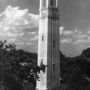 Memorial Bell Tower, birds eye view