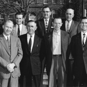 Jim A. Graham and others in group photo