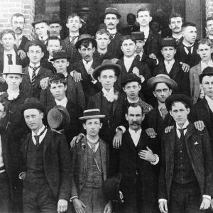 First freshman class at North Carolina College of Agriculture and Mechanic Arts, 1889