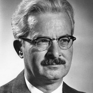 Dean Henry L. Kamphoefner portrait