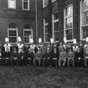 Phi Psi textile fraternity, 1939