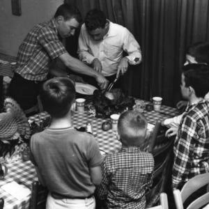 "Sigma Pi ""Peter Pops Day"" for underpriviledged children, November 1967."