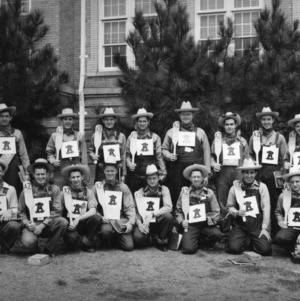Alpha Zeta spring 1950 pledge class, North Carolina State College
