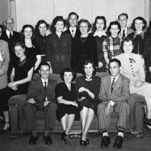 YMCA cabinet, 1950