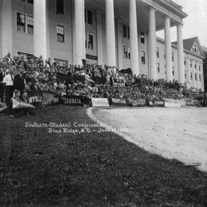 Southern Student Conference, Blue Ridge, N.C., June 17, 1921.