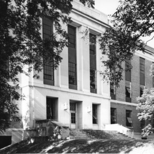 Entrance to Nelson Hall, North Carolina State College