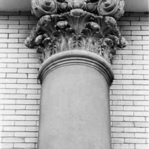 Patterson Hall, Corinthian column