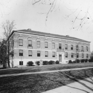 Peele Hall, North Carolina State College, built in 1928 on the site of the old Engineering Building.