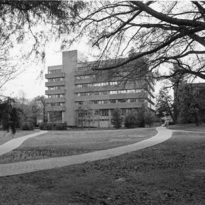 Poe Hall, view